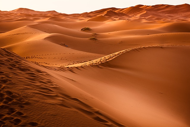 Sand dunes, Morocco